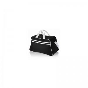 Športová taška čierno biela s ramienkom